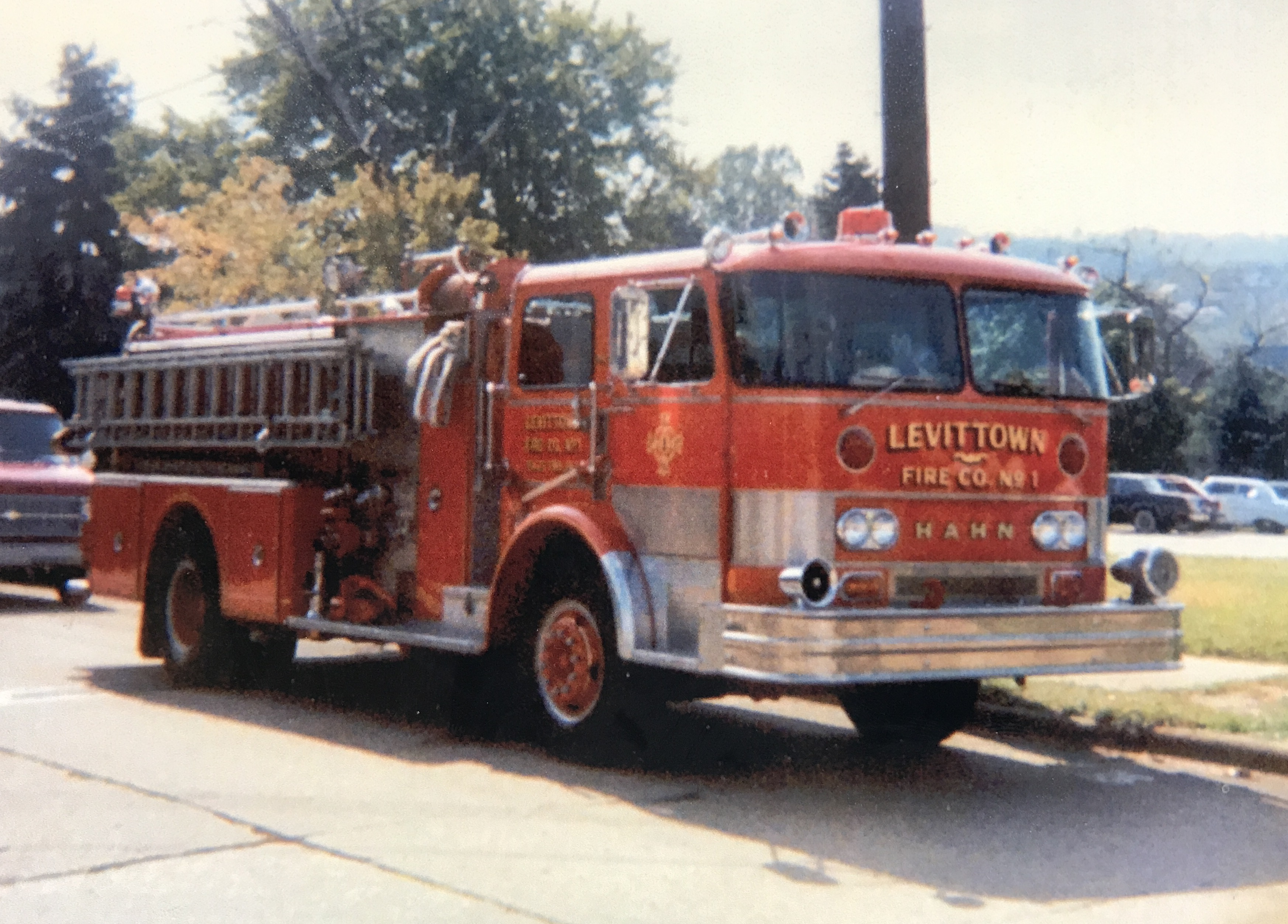 Retired Apparatus Levittown Fire Company 1